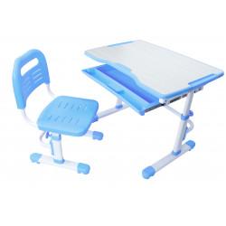 Комплект парта и стул-трансформер Vivo Blue FunDesk