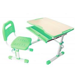 Комплект парта и стул-трансформер Vivo Green FunDesk