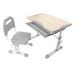 Комплект парта и стул-трансформер Vivo Grey FunDesk