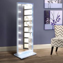 Зеркало для макияжа Candy Art-com Белое