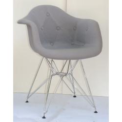 Кресло Onder Mebli Леон Софт CH-ML Шерсть Серый W-16