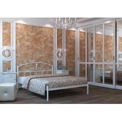 Кровать для двоих железная Кассандра Металл-Дизайн