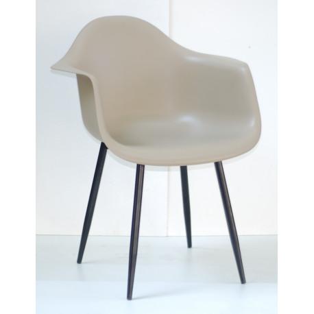 Кресло Onder Mebli Леон Металл BK Беж 06