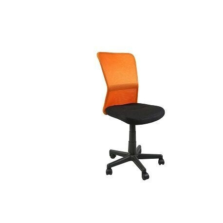 Кресло Belice Black/Orange Special4You Technostyle