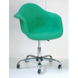 Кресло Onder Mebli Леон Софт Офис Шерсть Зеленый W-17