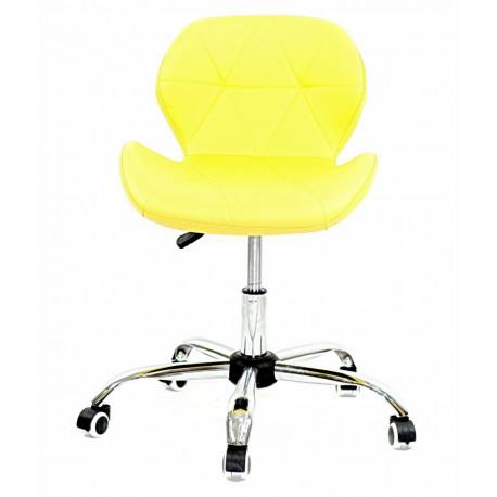 Кресло Onder Mebli Инвар Office ЭкоКожа Желтый 12