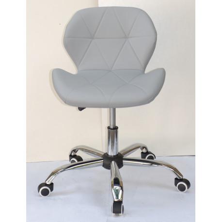 Кресло Onder Mebli Инвар Office ЭкоКожа Серый 21
