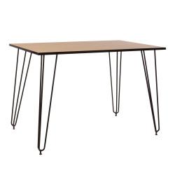 Стол Aller Black H18 1100х700 Новый стиль