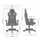 Кресло геймерское Хекстер (Hexter) Pro Tilt MB70 01 Новый Стиль
