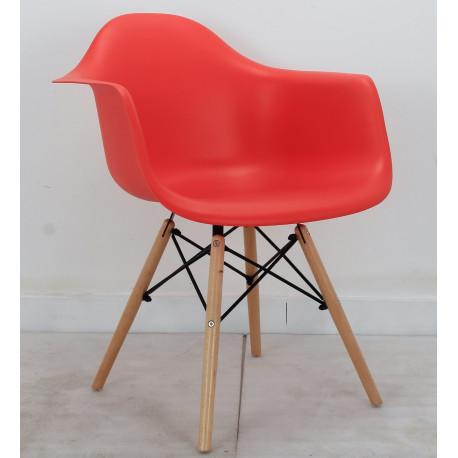 Кресло Onder Mebli Леон Красный 05