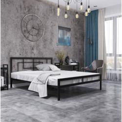 Кровать в стиле лофт Квадро Металл-Дизайн Лофт