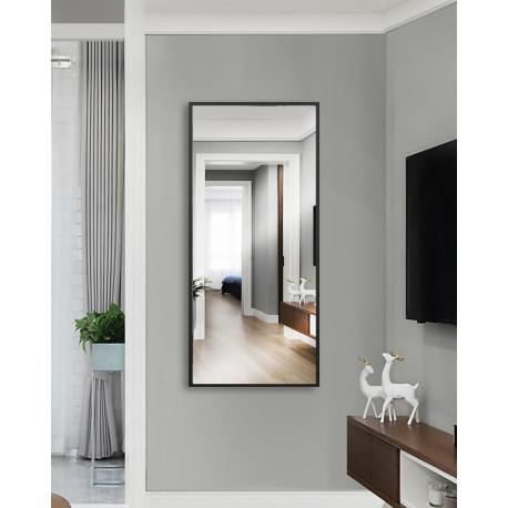 Зеркало на основе ЛДСП Art-com ZR6 Черно-белый