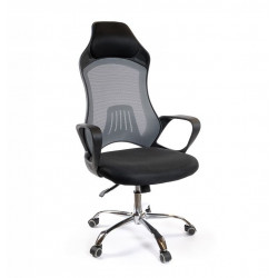 Кресло Дорос CH ANF черный/серый А-класс