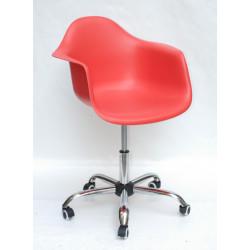 Кресло Onder Mebli Леон Офис Красный 05