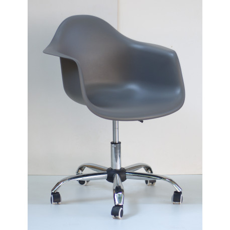 Кресло Onder Mebli Леон Офис Серый 21