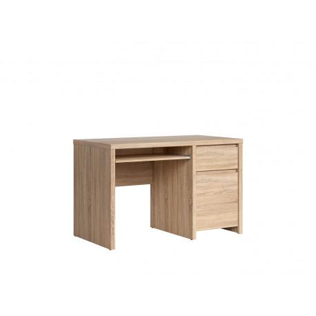 Стол письменный с одной тумбой BRW Каспиан BIU 1D1S 120 Сонома