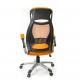 Кресло офисное с сетчатой спинкой Винд PL TILT оранж А-класс