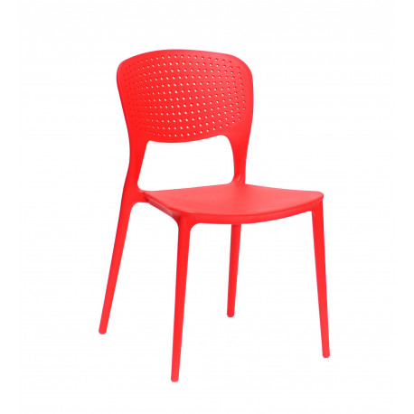 Стул пластиковый Onder Mebli Марк Красный 05