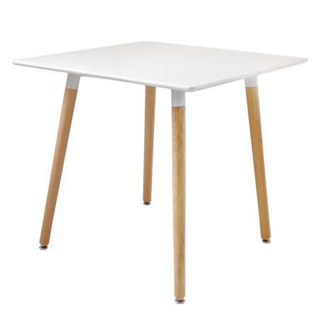 Стол кухонный квадратный 80х80 Нури белый Группа СДМ