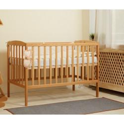 Ліжечко дитяче дерев'яне без механізму Goydalka Anet 1B22-2 Бук