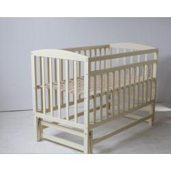 Кроватка детская с маятниковым механизмом Goydalka Valeri 1B29-7-1,2,3Р Слоновая кость