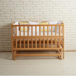 Ліжечко дитяче з маятниковим механізмом Goydalka Valeri 1В216-2 Р Бук