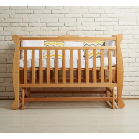 Кроватка детская с маятниковым механизмом Goydalka Natali 1В31-2Р Бук