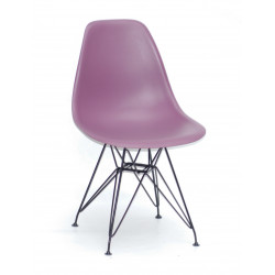 Стул пластиковый Onder Mebli Ник BK-ML Пурпурный 62