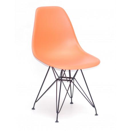 Стул пластиковый Onder Mebli Ник BK-ML Оранжевый 70