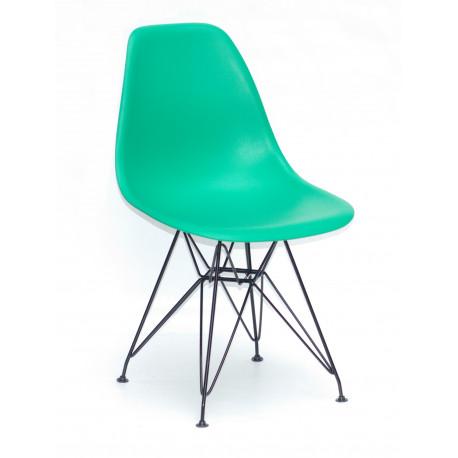 Стул пластиковый Onder Mebli Ник BK-ML Зеленый 47