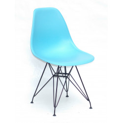 Стул пластиковый Onder Mebli Ник BK-ML Голубой 52