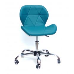Кресло Onder Mebli Инвар Office ЭкоКожа Зеленый 02