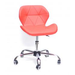Кресло Onder Mebli Инвар Office ЭкоКожа Красный 05