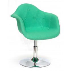 Кресло Onder Mebli Леон Софт CH - Base Шерсть Зеленый W-17
