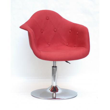 Кресло Onder Mebli Леон Софт CH - Base Вискоза Красный К-9