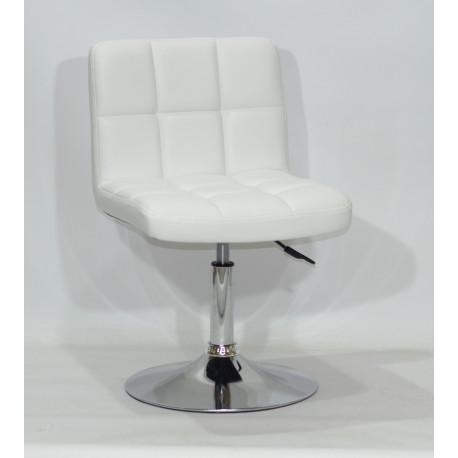 Кресло Onder Mebli Арно CH - Base Экокожа Белый