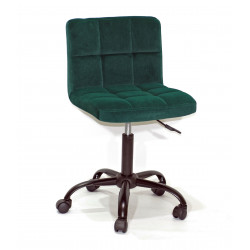 Кресло Onder Mebli Арно BK - Office Бархат Зеленый В-1003
