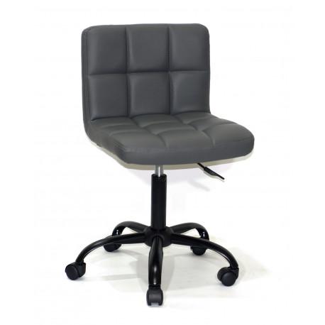Кресло Onder Mebli Арно BK - Office Экокожа Серый 1001