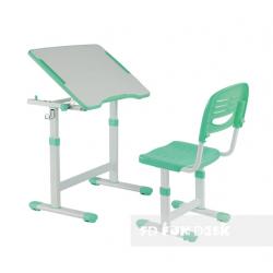 Комплект парта і стілець-трансформери Piccolino II Green FunDesk