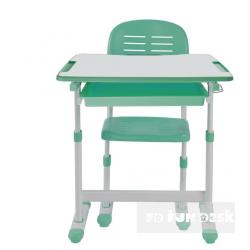 Комплект парта дитяча і стілець-трансформер Piccolino Green FunDesk