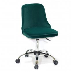Кресло Onder Mebli Адам CH - Office Бархат Зеленый В-1003
