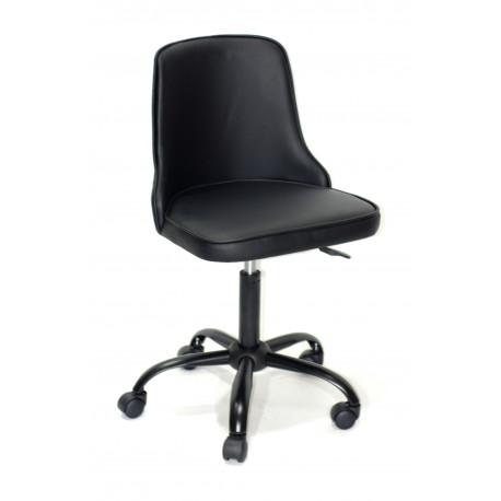 Кресло Onder Mebli Адам BK - Office Экокожа Черный