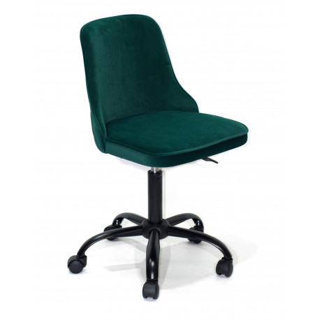 Кресло Onder Mebli Адам BK - Office Бархат Зеленый В-1003