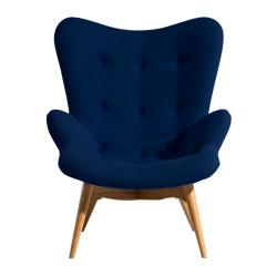 Кресло Флорино синее Группа СДМ