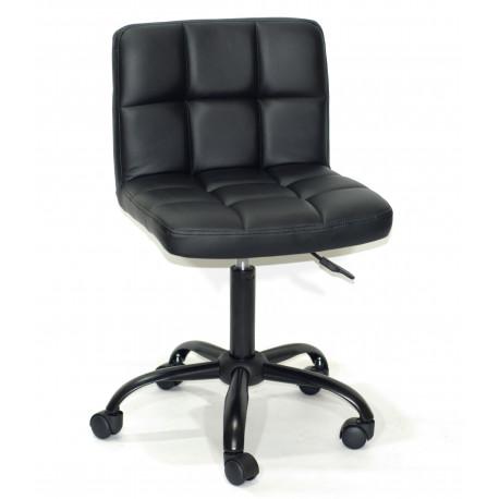 Кресло Onder Mebli Арно BK - Office Экокожа Черный