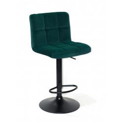 Кресло Onder Mebli Арно Bar BK - Base Бархат Зеленый В-1003