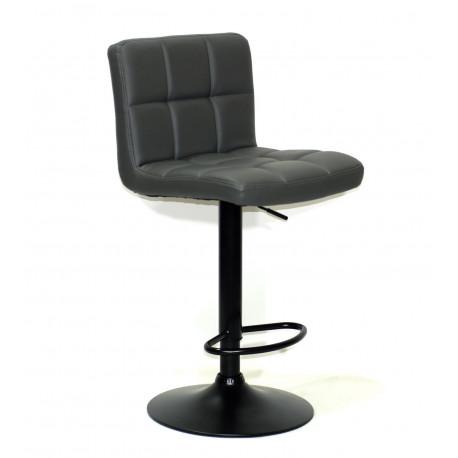 Кресло Onder Mebli Арно Bar BK - Base ЭкоКожа Серый 1001
