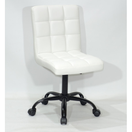 Кресло Onder Mebli Augusto BK - Office Экокожа Белый