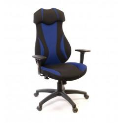Кресло Эпсилон PL SR чёрно-синий А-класс