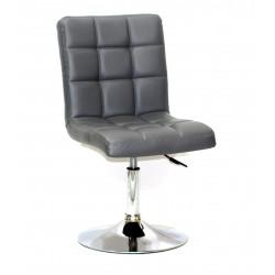 Кресло Onder Mebli Augusto CH - Base ЭкоКожа Серый 1001